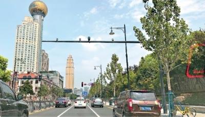 """交通护栏路灯都喷涂成黑灰色沿江大道""""美黑""""开车不易疲劳"""
